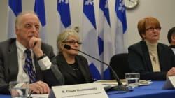 Premier rapport de la commission Robillard: la pointe de