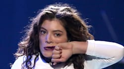 Lorde's Most Winning Facial Expressions At The