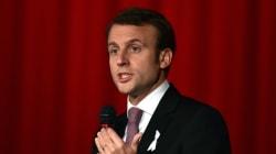 Emmanuel Macron vante les réformes