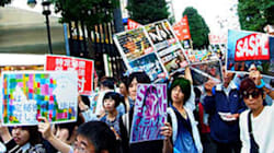 ラップに乗って「秘密保護法反対」〝イマドキの若者〟らがデモ