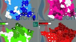 INFOGRAPHIE - La nouvelle carte de France du