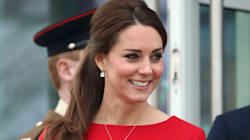 Kate Looks Stunning In Little Red