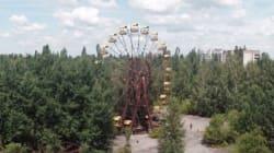 Tchernobyl abandonnée filmée par un
