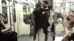 Libera e senza velo: una donna iraniana balla nella metro di Teheran