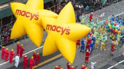 Parade de Macy's en l'honneur de l'Action de Grâce: un grand succès