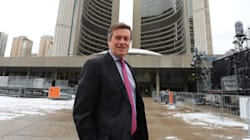 John Tory Takes Office