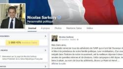 Nicolas Sarkozy franchit le cap du million de fans sur