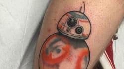 Déjà un tatouage inspiré de la bande-annonce de