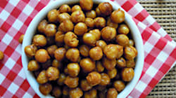 Curried Roasted Chickpeas Are The Ideal Healthy