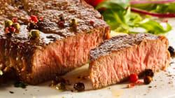 Vegetariani a tempo determinato. L'amore per la bistecca ritorna dopo un