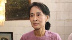 Aung San Suu Kyi candidate aux
