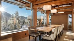 You Can Ski Right From This Whistler Home Onto The