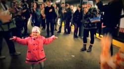 La danse de cette fillette a fait le bonheur des voyageurs du métro de New York