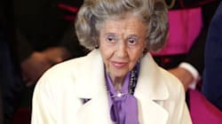 L'ex-reine de Belgique Fabiola est