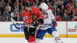 Le Canadien s'incline face aux Blackhawks