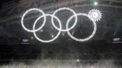 ソチの「開かずの輪」、実は前日に落下 開会式の秘話