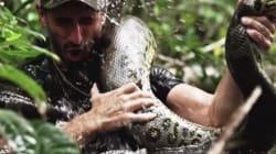 Son idée de se faire avaler par un anaconda n'a pas tourné comme