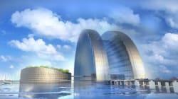 Ce gigantesque hôtel flottant accueillera les supporteurs du