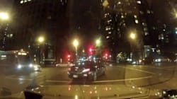 ► Vancouver Driver Runs Red In Spectacular