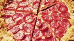 Quand une pizza rencontre un paquet de