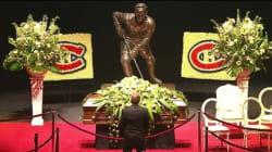 Une image vaut mille mots: Guy Lafleur devant son idole, Jean