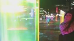 «Luminothérapie»: Jouer dans la lumière au Quartier des spectacles