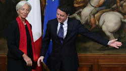 Renzi vede Lagarde: