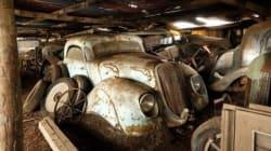 Un trésor automobile découvert dans une propriété abandonnée et mis aux
