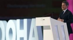 Il a donné une conférence payée à Abou Dhabi en plein débat sur le
