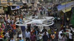Drones Will Soon Patrol Delhi