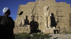 La tombe d'une reine pharaonique découverte en Egypte à