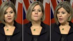Ontario NDP Leader Stonewalls Press In Tense Exchange On Sex Assault