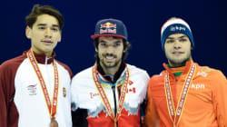 Courte piste: six médailles canadiennes, dont l'or pour Charles Hamelin