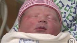 Ce bébé est né pile-poil au bon moment