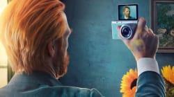 Gli autoritratti di Van Gogh, Frida Kahlo e Dürer diventano selfie. La nuova pubblicità di