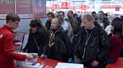 Russians On Shopping Spree As Ruble