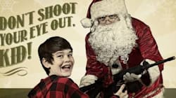 Santa Gives Child An AR-15 Rifle In Latest Ad From Canada's Gun