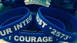 B.C. Police Force Sells Bracelets To Support Officer Charged With