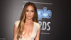 JLo Reveals Lots Of Skin In Plunging