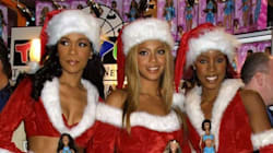 Celebs In Sexy Santa Claus