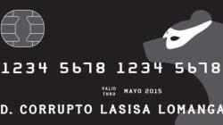 La 'tarjeta black' con la que UPyD felicita las