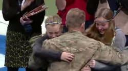 Le sorprese più belle dei militari che tornano a