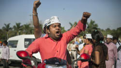 Swamp Swallows Car Of AAP Leader Who Was Protesting To Fill