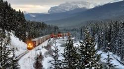 Train Derailment Near Banff Sends Cargo Into