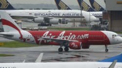 L'avion d'AirAsia disparu est probablement