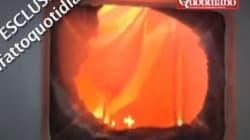 Ferry en feu près de la Grèce: un passager filme les flammes au plus