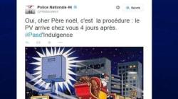 En Loire-Atlantique, les policiers ont de l'humour pendant les