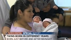 New Year's Twins To Celebrate Birthdays In Separate