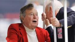 L'ex-président George H. W. Bush a quitté