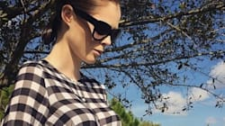 Pregnant Coco Rocha Reveals Her Growing